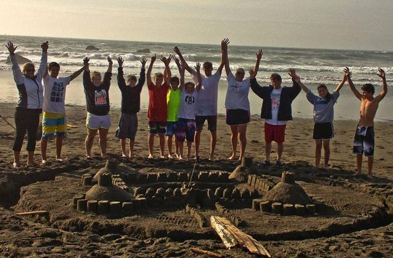 Build your Dream Sand Castle at Seascape Cottages