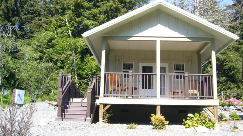 Cottage #3, the Orca Suite, is an ADA has it's own parking ramp and other ADA compliant features.