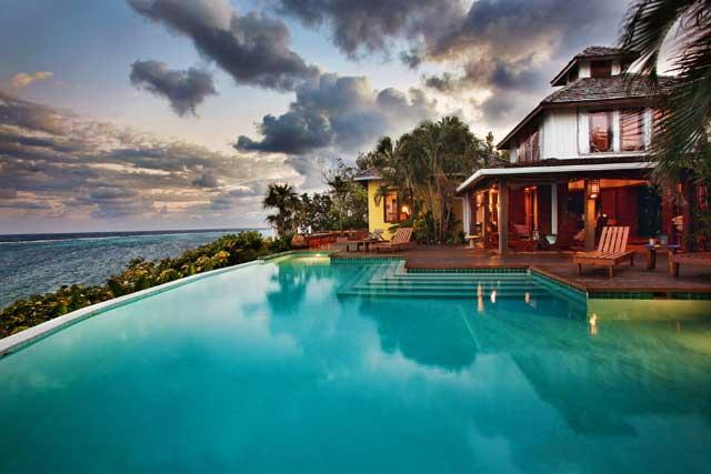 Incredible luxury. Four suite villa on a private estate. Includes use of a car no extra charge