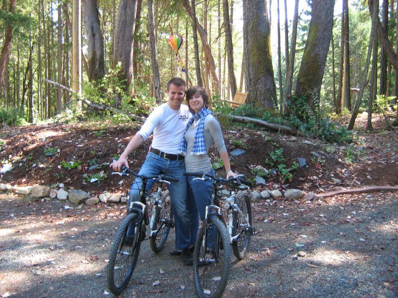 2 bicicletas para su uso