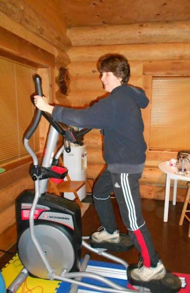 Elíptica y TRX también en la cabina del ejercicio