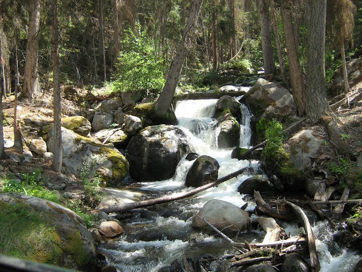 Bonnel Creek una corta caminata.