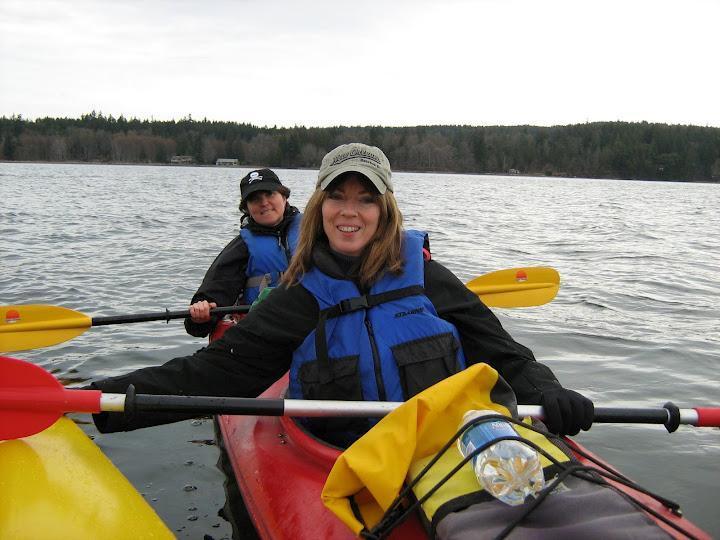 Kayak en Nanoose Bay