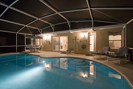 Nuit temps piscine - génial !