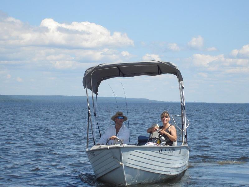 Boating On Lake Nipissing