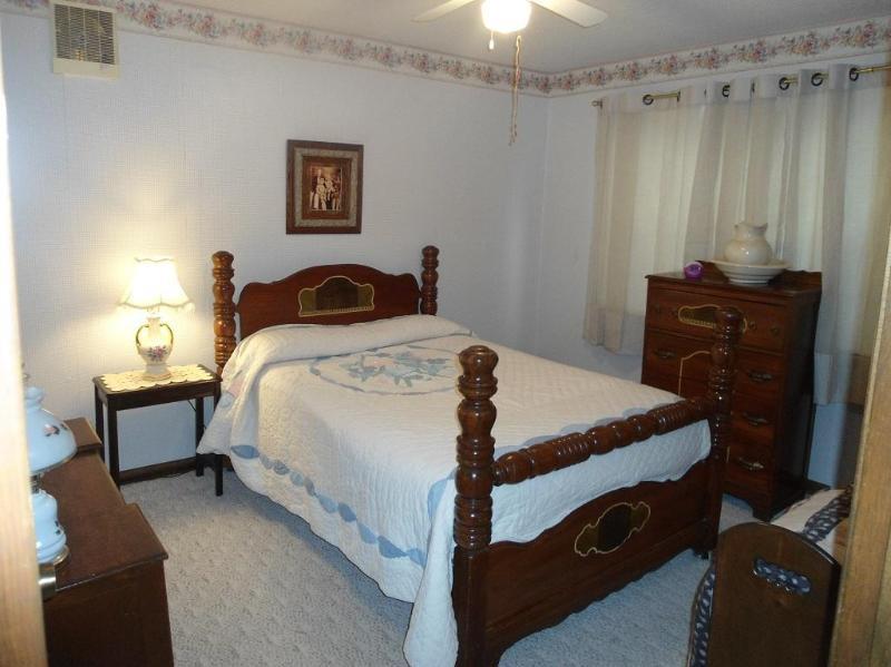 downstairs full bedroom