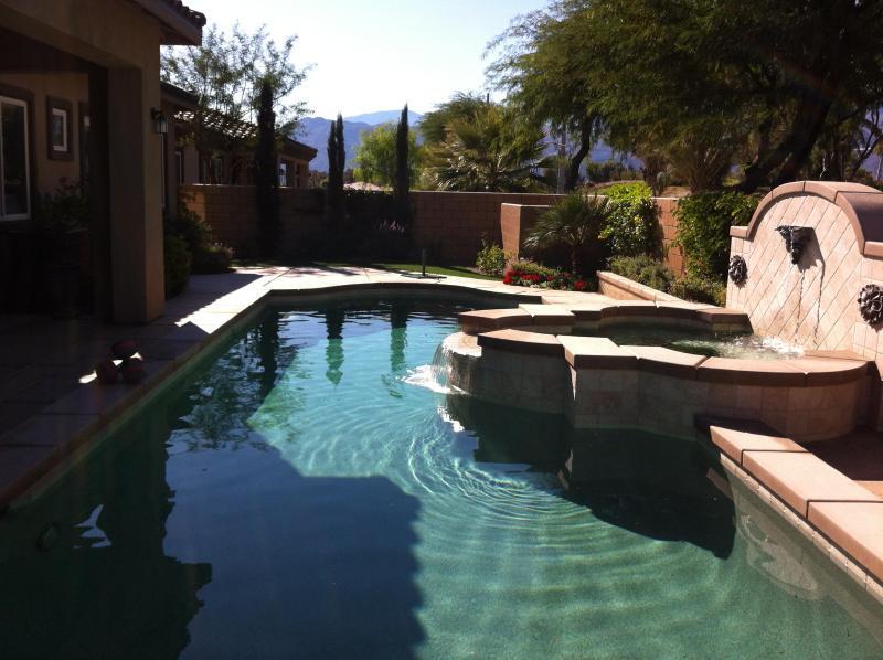 38 foot solar/gas heated salt water pool