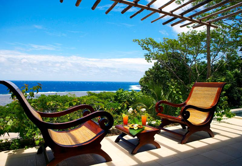 Exquisite ocean views from bedroom suite