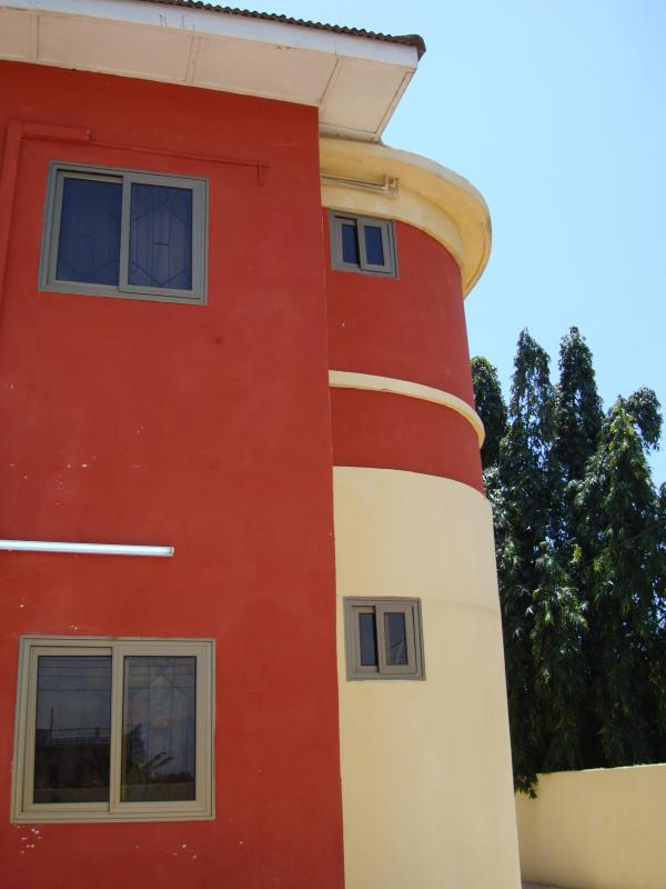 The Frontage of Osu Kuku Hill Apt Building