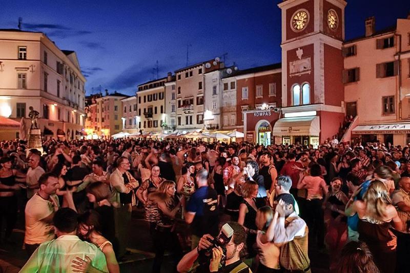 Croate Salsa Festival d'été à Rovinj.