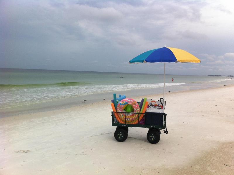 Our Beach Cart