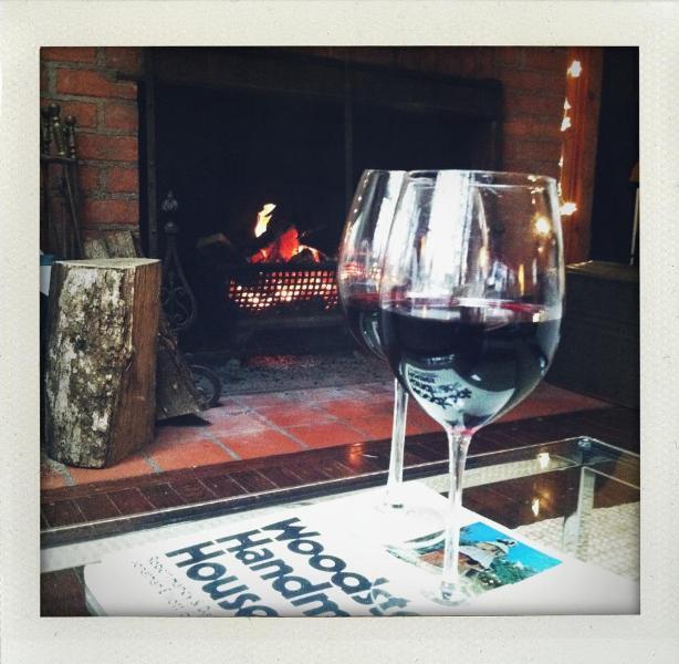 Red Wine Zen in the living room