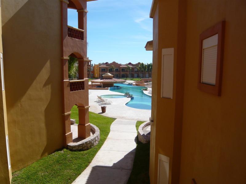 Building View of full pool