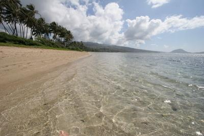 Beach towards Kahala Hotel & Resort.