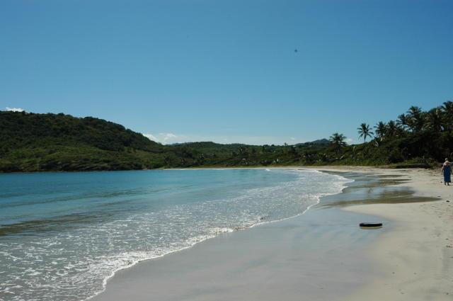 Beach 50 metres away