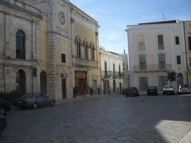One of the sqares in Conversano