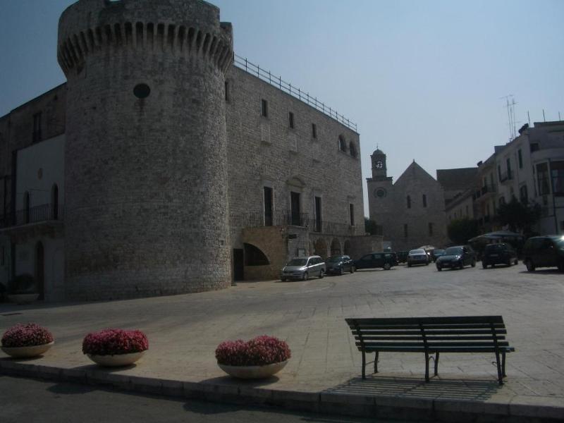 Conversano's castel