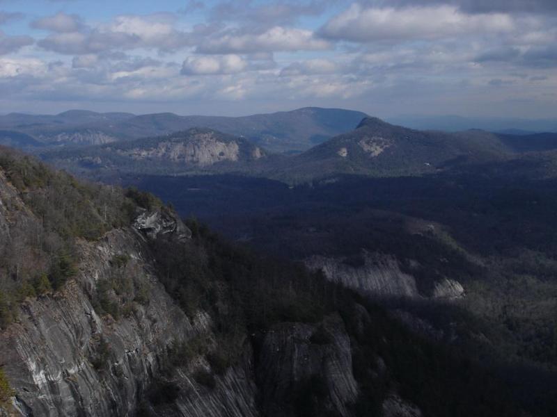 Whiteside Mountain - 5 miles away