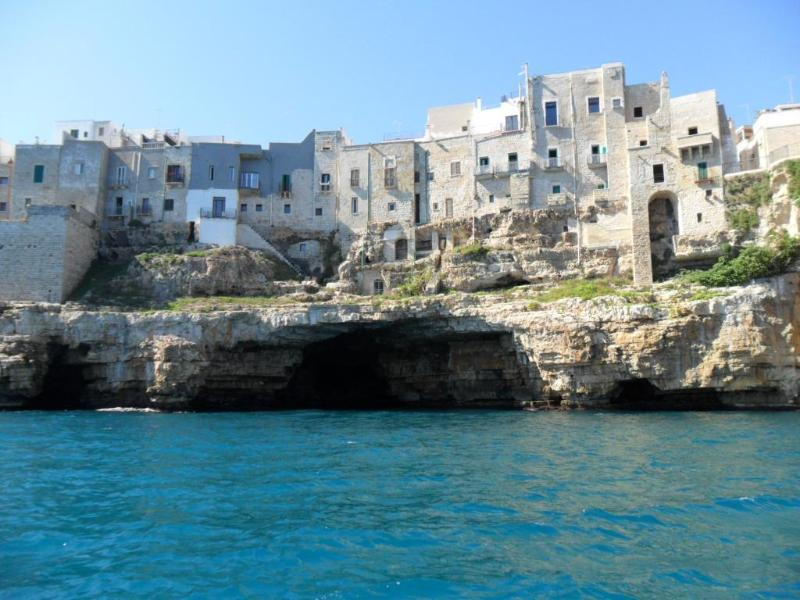 Polignano from the see
