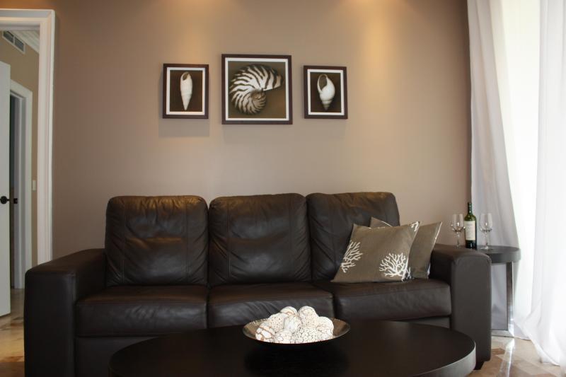 Salle de séjour avec gigogne canapé Reine