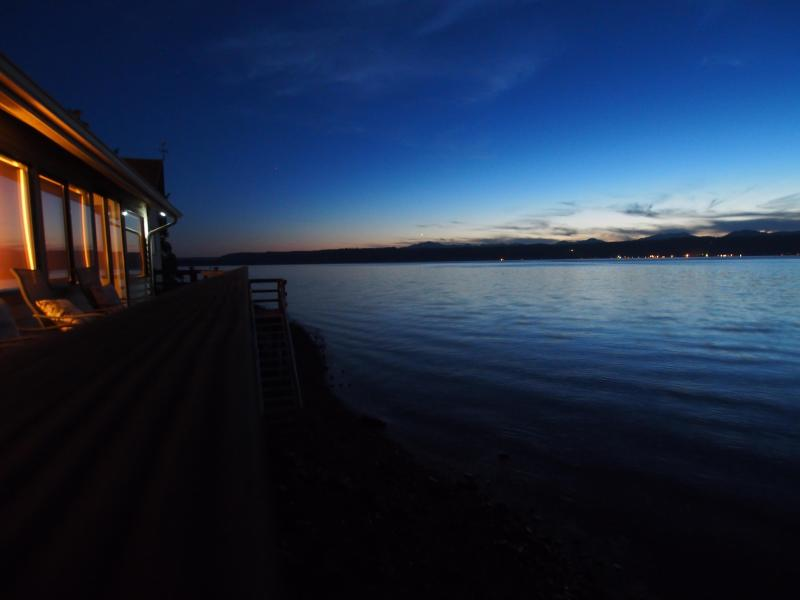 Lovely evening at Hood Canal