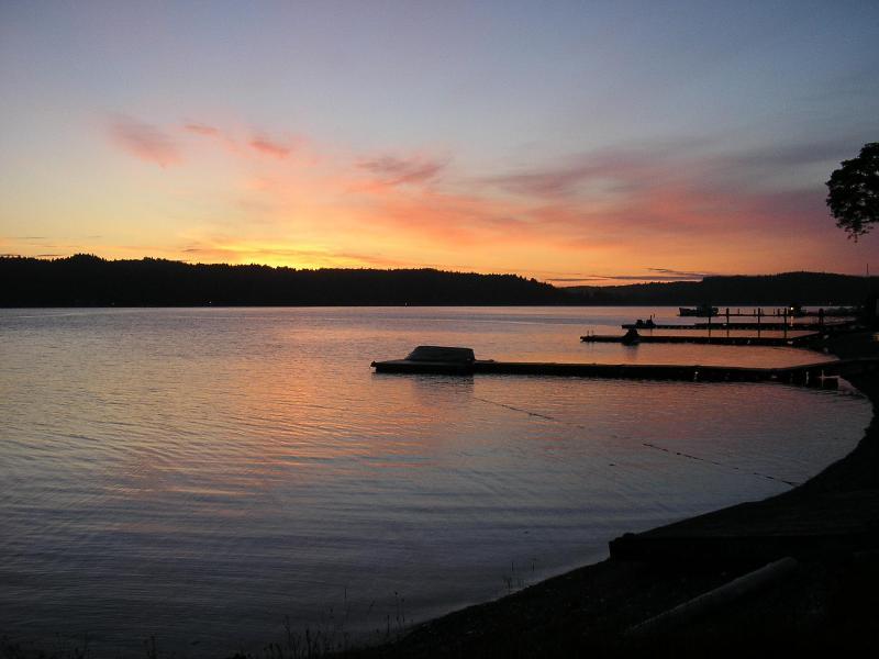 A calm, quiet sunrise