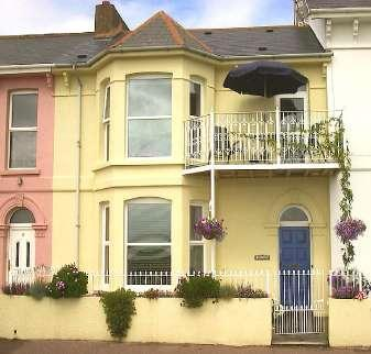 your ground floor flat with wonderful views over the coast and estuary.