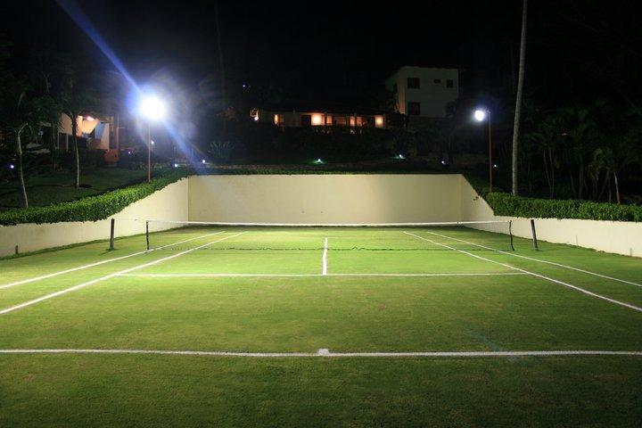 Tennis Court at night!