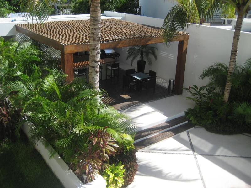 Vue supplémentaire du balcon à zone gaz Grill et barbecue