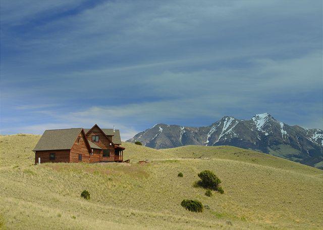 Nice views of the Absaroka-Beartooth Mountains