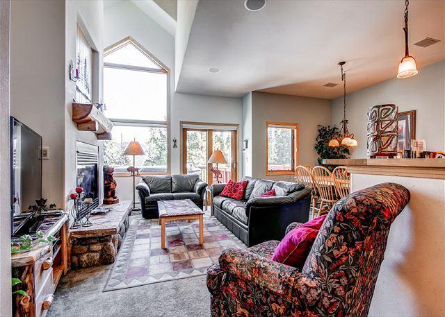Pines Townhome Sala de estar Ski-in / Ski-Out Breckenridge Alojamiento