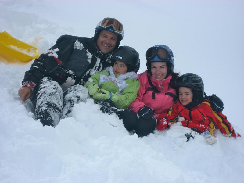 Family Pic after a Snowball Fight