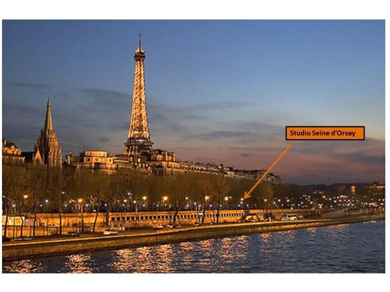 Please also check out our second studio-  5 min to the Eiffel, on the river Seine- Property # 506541