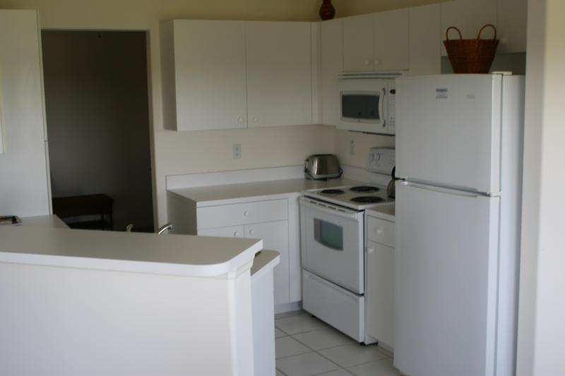 Fully loaded kitchen--everything you need! Full size appliances fully stocked cabinets. All you need