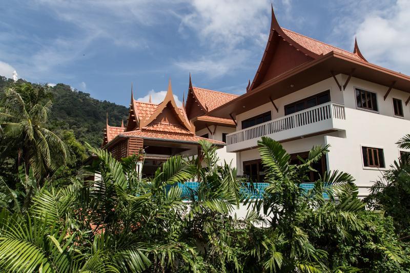 Villa from Rear aspect