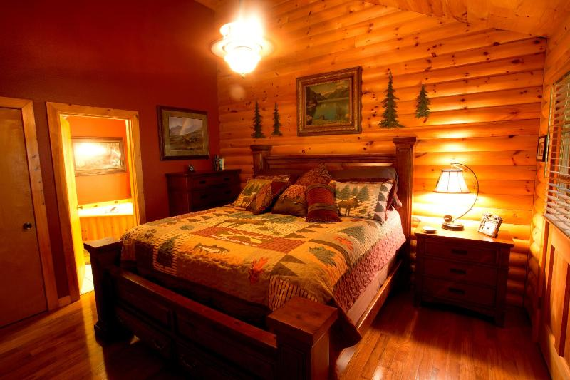 Bedroom #1- King Bed.