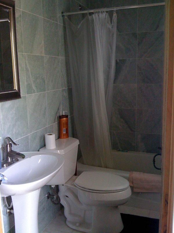 1st Floor Marble bathroom