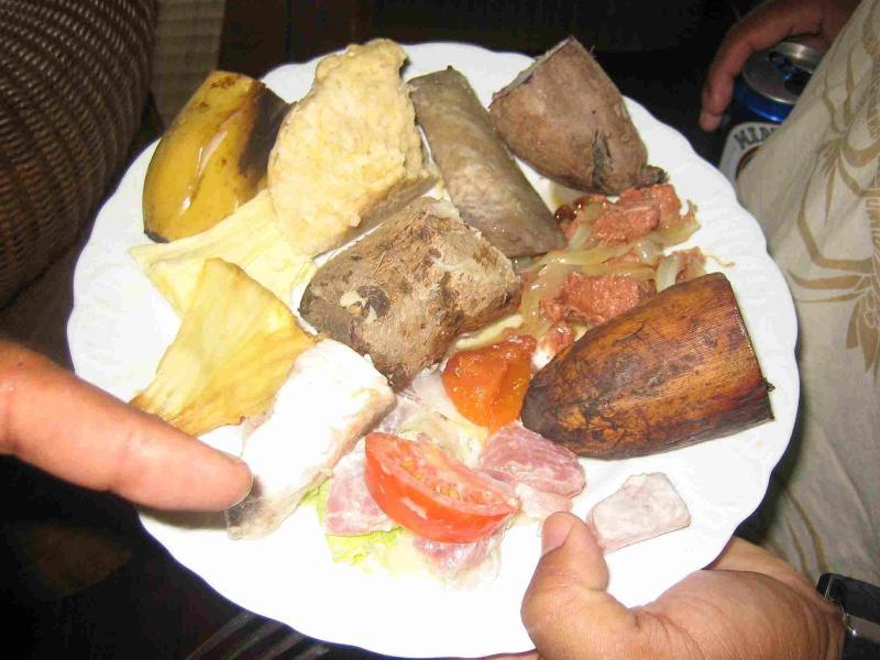 comida Tahitiana