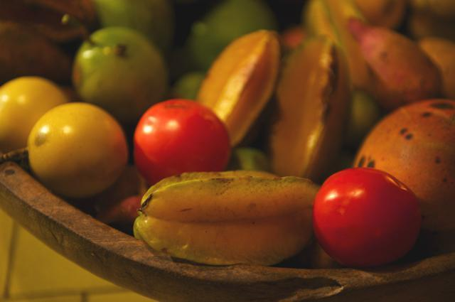 fruta tropical fresca