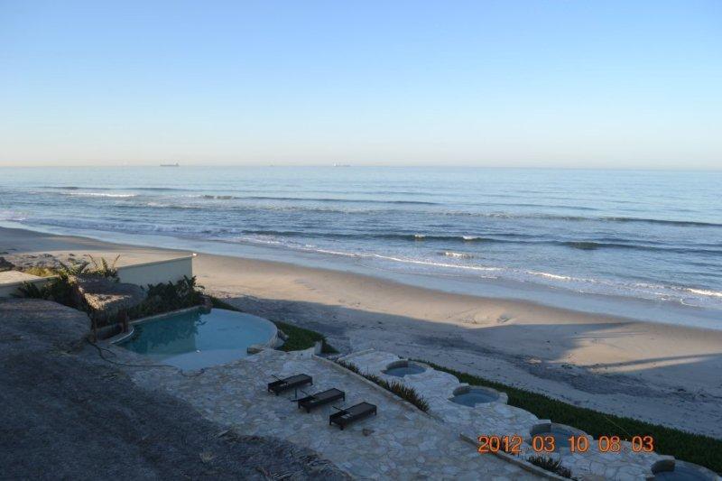 Balcon vue océan