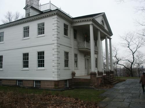 Jumel Mansion across the street