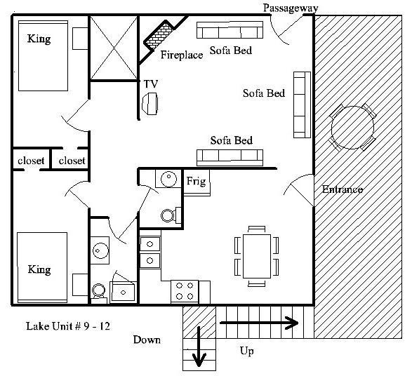 Floor Plan Lake Units #9-12