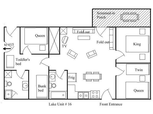 Floor Plan Unit 16