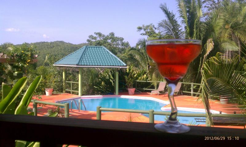 Pool, Refreshing Cocktail, Amazing View