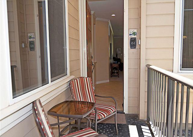 coffee nook at front entrance