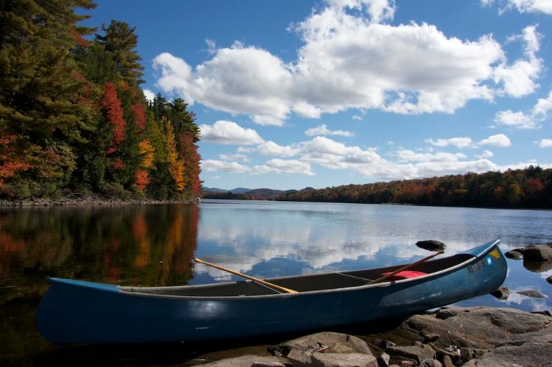 Big Bay Lake - a 30 minute kayak or canoe ride to this non inhabited lake