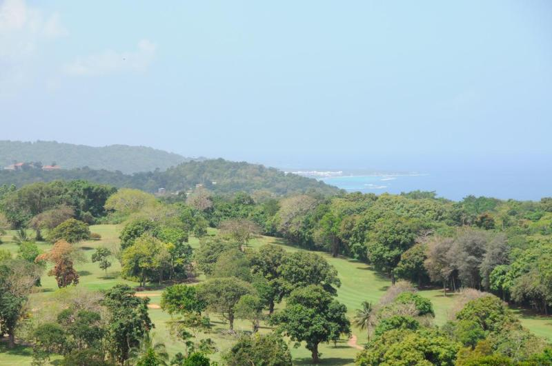 View of golf course from Main Villa