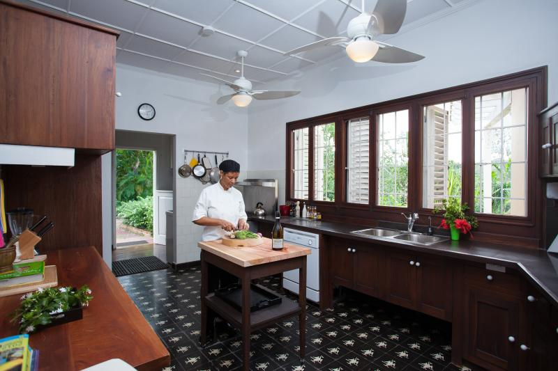 Main Kitchen with Chef