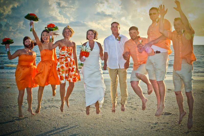 We are the Perfect Spot for Beach Weddings! Call us for details