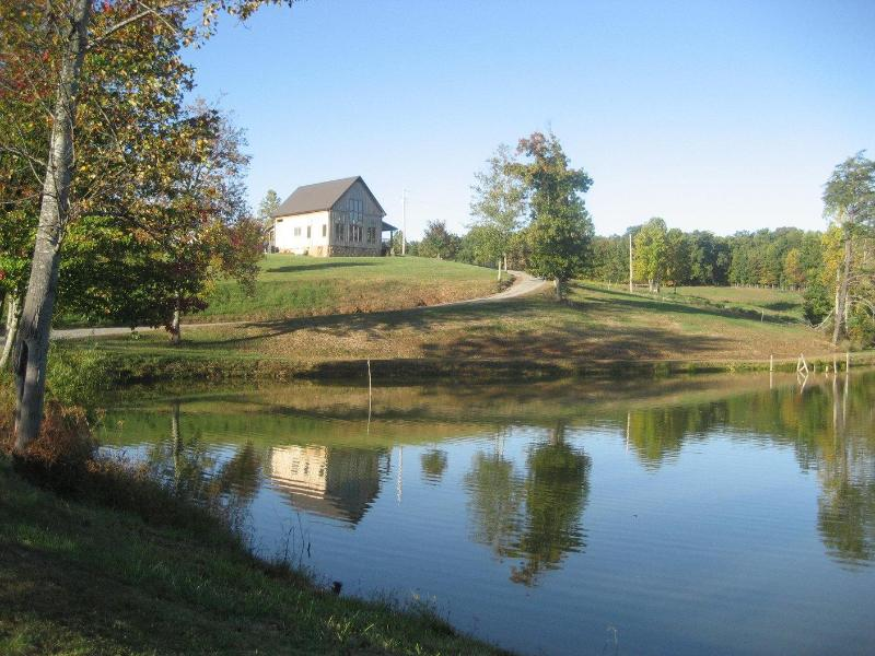 Cabin on 41 acres with 3 acre pond